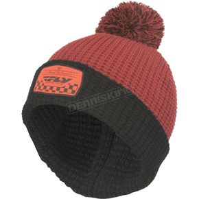 Fly Racing Burgandy Drift Beanie - 351-0532