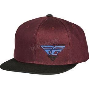 Fly Racing Port/Blue Choice Snapback Hat - 351-0542