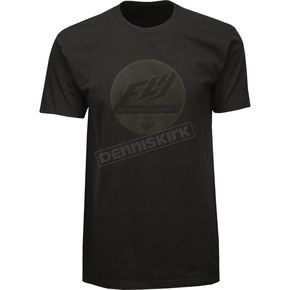Fly Racing Black Clique Premium T-Shirt - 352-0380M