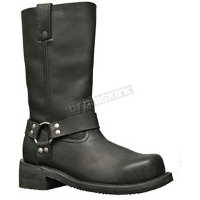 Milwaukee Motorcycle Clothing Co. Mens Barron Steel Toe Harness Boots - EE Width - MB41341