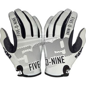 509 White Low 5 Gloves - 509-GLOL5W-16-MD
