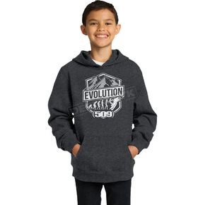 509 Youth Black Evolution Pullover Hoody - 509-CLO-YEH-MD