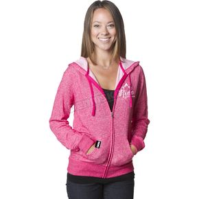 509 Women's Pink Ride Mountain Zip Hoody - 509-CLO-WPZ-MD