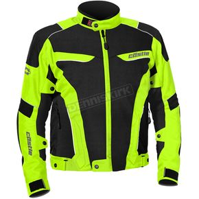 Castle X Hi-Viz/Black Max Air Jacket - 17-1539