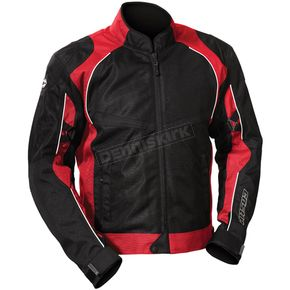 Castle X Red/Black Pulse Jacket - 16-3116