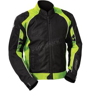 Castle X Hi-Vis/Black Pulse Jacket - 16-3138