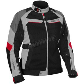 Castle X Women's Gray/Red Passion Air Jacket - 17-1814