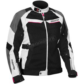 Castle X Women's White/Hot Pink Passion Air Jacket - 17-1892