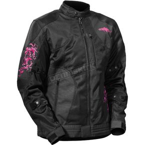 Castle X Women's Magenta/Black Prism Jacket - 17-1284
