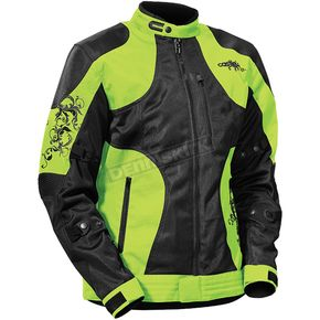 Castle X Women's Hi-Viz/Black Prism Jacket - 17-1236