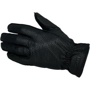 Castle X Black Perforated Standard Gloves - 20-2036