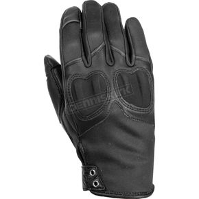 Highway 21 Women's Black Vixen Gloves - 489-0090S