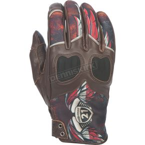 Highway 21 Women's Liberty Brown Vixen Gloves - 489-0093L