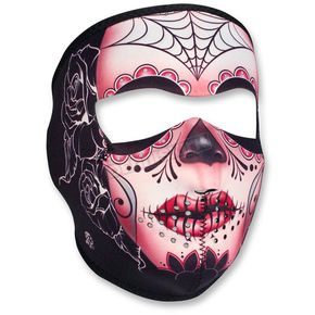 Zan Headgear Sugar Skull Full Face Mask - WNFM082
