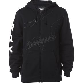 Fox Black Unfocused Zip Hoody - 18268-001-M