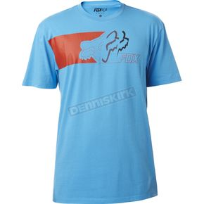 Fox Surface Blue Transformed T-Shirt - 18300-002-S