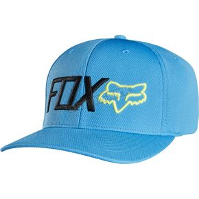 Fox Surface Blue Trenches FlexFit Hat - 18355-002-S/M