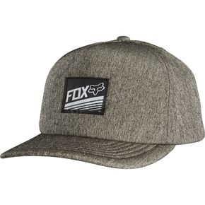 Fox Heather Gray Campt Snapback Hat - 18363-040-OS