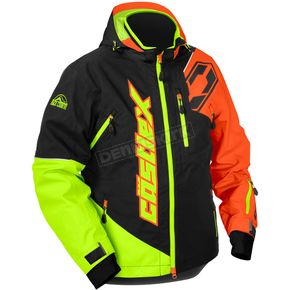 Castle X Orange/Hi-Vis Stance Jacket - 70-6159