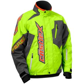 Castle X Hi-Vis/Gray Force Jacket - 70-9536