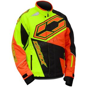 Castle X Hi-Vis/Orange Launch SE G4 Jacket - 70-5514