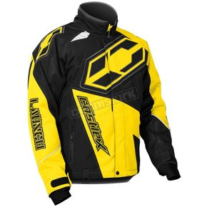 Castle X Yellow/Black  Launch G4 Jacket - 70-5434