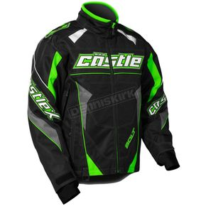 Castle X Green/Black Bolt G4 Jacket - 70-5642