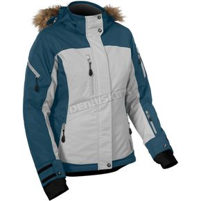 Castle X Women's Bay Blue/Gray Tempest Jacket - 71-1626