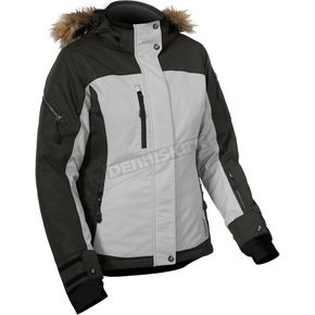 Castle X Women's Licorice/Gray Tempest Jacket - 71-1661