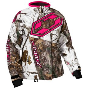 Castle X Women's Realtree AP Snow/Hot Pink Launch G4 Jacket - 71-1224