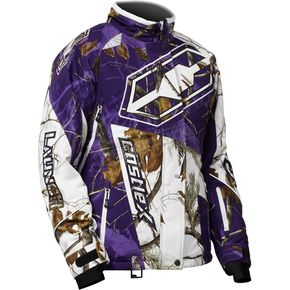 Castle X Women's Realtree AP Snow/Purple Launch G4 Jacket - 71-1288