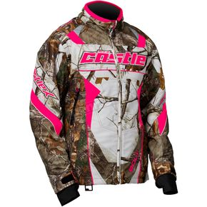 Castle X Women's Realtree/Hot Pink Bolt G4 Jacket - 71-1521