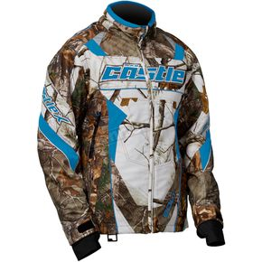 Castle X Women's Realtree/Reflex Blue Bolt G4 Jacket - 71-1552