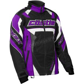 Castle X Women's Grape/Black Bolt G4 Jacket - 71-1389