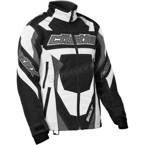 Castle X Women's White/Black Bolt G4 Jacket - 71-1394