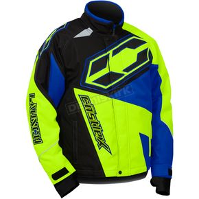 Castle X Youth Blue/Hi-Vis Launch SE G4 Jacket - 72-5328