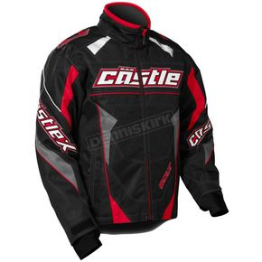 Castle X Youth Red/Black Bolt G4 Jacket - 72-5716