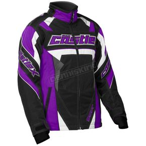 Castle X Youth Grape/Black Bolt G4 Jacket - 72-5981