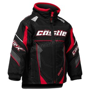 Castle X Toddler Red/Black Bolt G4 Jacket - 72-6112