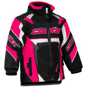 Castle X Toddler Hot Pink/Black Bolt G4 Jacket - 72-6193