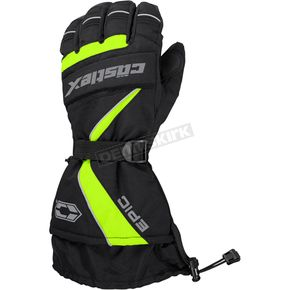 Castle X Hi-Vis/Black Epic Gloves - 74-5229