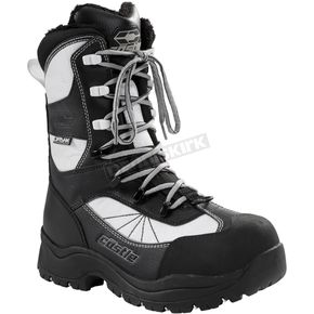 Castle X Women's White/Black Force 2 Boots - 84-2309