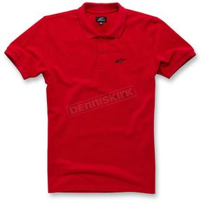 Alpinestars Red Effortless Polo Shirt - 103642008-30L