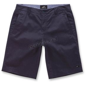 Alpinestars Navy Reflex Solid Shorts  - 104523052-10-32