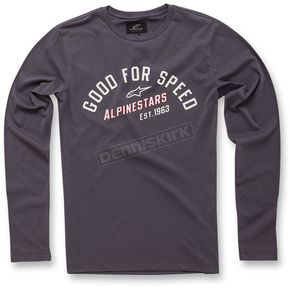 Alpinestars Charcoal Upshift Long Sleeve Knit Shirt - 103642000-18M