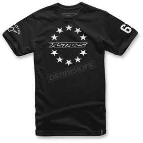 Alpinestars Black Ace T-Shirt  - 103672012-10M