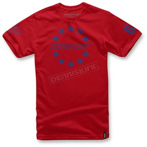 Alpinestars Red Ace T-Shirt  - 103672012-30XL