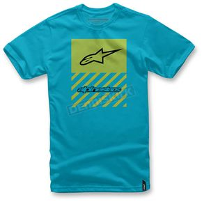 Alpinestars Turquoise Fact T-Shirt  - 103672007-76XL