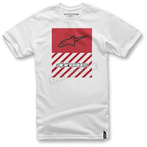 Alpinestars White Fact T-Shirt  - 103672007-202X