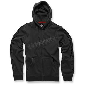 Alpinestars Black Determine Fleece Hoody - 103653010-10M